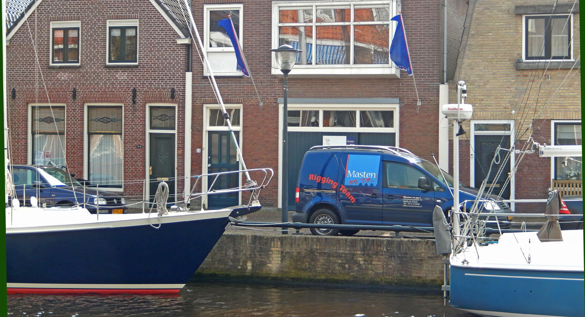Koopmansgracht in Sneek